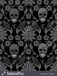 Skull Pattern Unique Human Skull Pattern