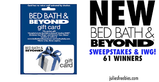 bed bath beyond cus ready sweeps is open only to legal residents of the 50 united states including district of columbia puerto rico