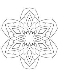 30 Snowflake Mandalas Coloring Pages By Sweetgoo Kids Tpt