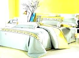 contemporary bedspreads king size modern romantic island vacation gray and yellow hotel bedding comforter set queen