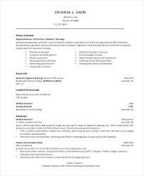enrolled nurse resume sample advice for writing college  nursing