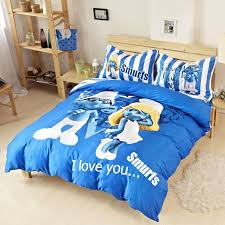 smurfs bedding set twin queen king size
