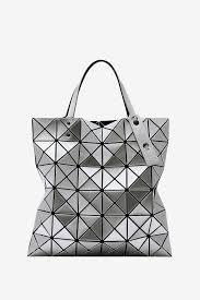 Japanese Designer Bag Geometric Lucent Tote Silver Tote Bags White Tote Bag Tote Handbags