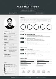 Best Looking Resume Template Best Of 24 Amazing Examples Of Cool And Creative ResumesCV Pinterest
