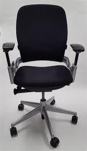 steelcase leap v2. Wonderful Steelcase Steelcase Leap Chair V2 In Black Fabric Titanium Base To