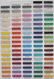 Web Color Chart Opaque 1125 Incredibow