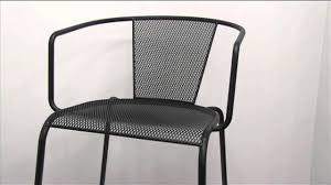 chesapeake verona metal mesh outdoor chairs by m