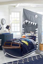 boys bedroom. Sharks Ahoy! Picture It, While Sailing The High Seas In Cruiser Bed, Boys Bedroom D