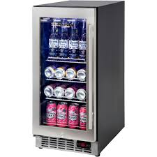 under bench quiet bar fridge yc100b 1