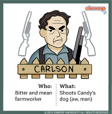 carlson in of mice and men character analysis