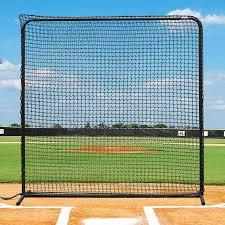 Replacement Fortress Baseball Protective Screen Net L-Screens, Backstop Nets \u0026 Protector | World Sports