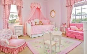 Pink And Purple Girls Bedroom Pink Curtains For Little Girls Bedroom