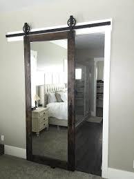 sliding barn doors. Penthouse Style Mirrored Sliding Door Barn Doors E