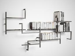 Minimalist Antologia Bookshelf Installation by Studio 14 for Mogg