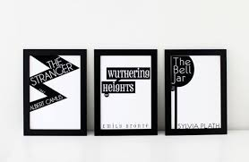 book cover posters