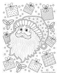 Easter Colouring Santa Claus Adult Coloring