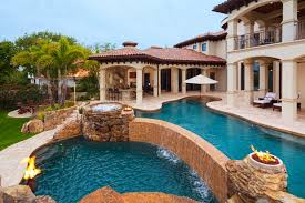 luxury home swimming pools. Modern Luxury Home Ideas With Magnificent Swimming Pool Design And Simple Waterfall Pools