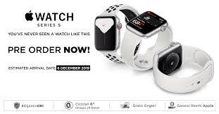 keta perbedaan apple watch seri 5