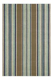 seaside cottage rugs blue heron stripe indoor outdoor rug