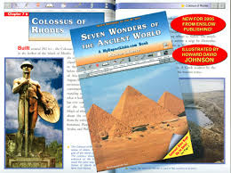 seven wonders of the ancient world historical illustrations of  seven wonders of the ancient world historical illustrations of the seven wonders of the ancient world word paintings seven wonders art by h d