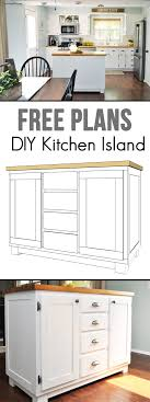 Kitchen Island Diy How To Build A Diy Kitchen Island Cherished Bliss