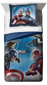 Marvel Avengers Captain America Civil War Twin Comforter Set - Babies