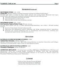 Home Health Care Nurse Resume Home Care Nurse Resume Nursing