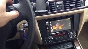 BMW 5 Series 2008 bmw 325xi : Bmw 3 series 2008 with Pioneer double din radio - YouTube