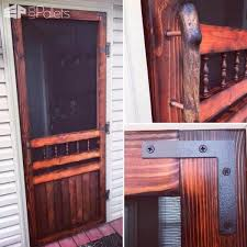 this diy tutorial will show you how to make a decorative rustic pallet screen door