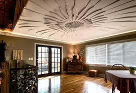 decorative ceilings contemporary dining room chicago by