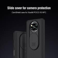 Nillkin CamShield <b>cover case</b> for Xiaomi Pocophone X3 NFC (<b>Poco</b> ...