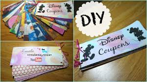 diy disney coupon booklet rosaliesaysrawr