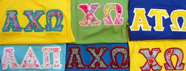 Sorority Letter Designs Diy Greek Letter Shirts