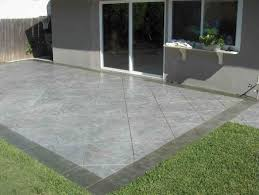 Concrete Stamped Patio Ideas J99S On Stylish Home Designing Ideas