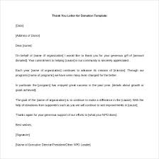 Donation Letter Example Delectable 44 Donation Letter Templates Free Sample Example Format Solicitation
