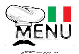 italian restaurant clipart black and white. Perfect And Italian Menu Design Throughout Restaurant Clipart Black And White