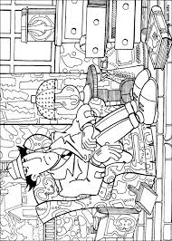 Inspector Gadget Coloring Pages Books 100 Free And Printable
