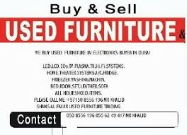 and sell used furniture