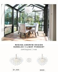 regina andrews design bubbles light for 1 000 vs west elm droplet chandelier for 500 copy