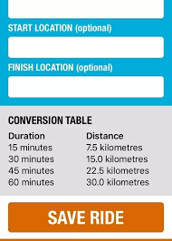 Miles To Minutes Conversion Chart How Many Miles Can You Cycle During A One Hour Spinning
