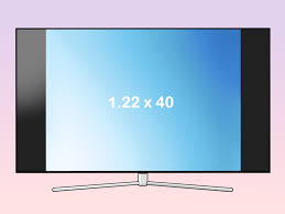 Tv Dimensions Chart How To Measure A Tv 9 Steps With Pictures Wikihow
