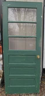 panel glass farm exterior door 79 x