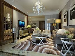 Wallpaper Designs For Living Rooms Wallpapers Living Room Design Living Room Ideas