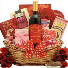 my sweet valentine wine gift basket