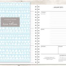 2015 Planner 2015 2016 Calendar From Posypaper On Etsy