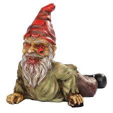 garden gnome statues. Modren Garden Crawling Zombie Garden Gnome Statue Throughout Statues