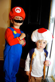 mario and toad costume