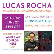 """Brazos Bookstore on Twitter: """"Tune in tomorrow 6/27 at 3CT on IG ..."""