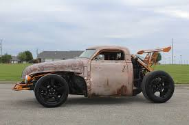 All Chevy 95 single cab chevy : 47 Chevy Meets '95 Cougar In This Tahoe-Powered Rat Rod