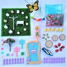 piece fairy garden starter kit enchanted gardens accessory kits